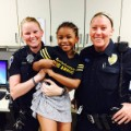 01 girl hugging cops