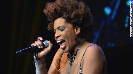 Macy Gray performs in New York City.