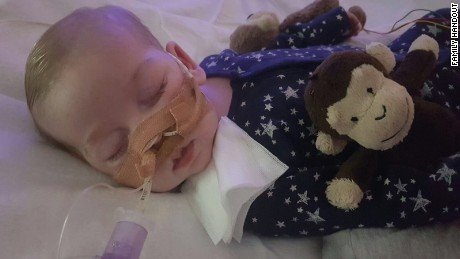 Court rules hospital can withdraw life support for sick baby Charlie Gard
