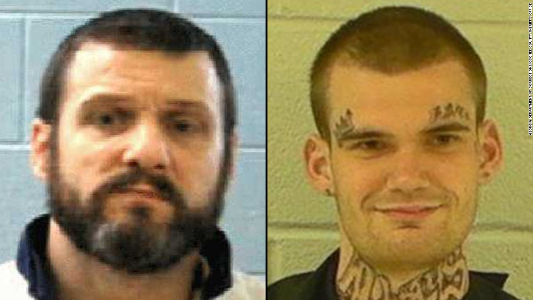 Escaped Georgia inmates captured after chase
