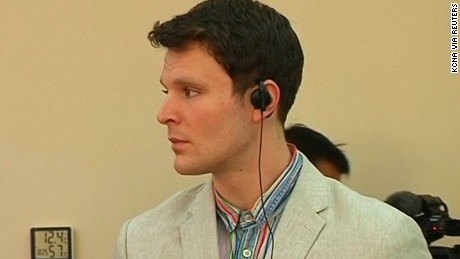 Otto Warmbier, a student who has been imprisoned by North Korea, was set free