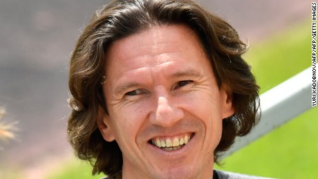 Alexei Smertin once denied the existence of racism in Russia but now the former national team captain and Chelsea midfielder is in charge of tackling the problem as the World Cup looms.