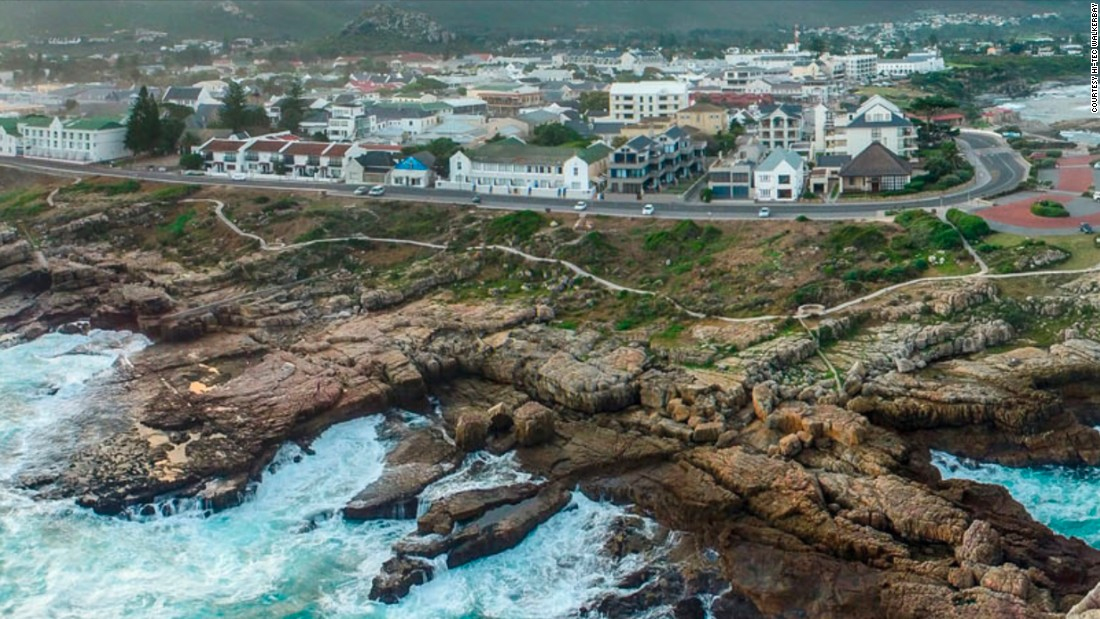 One of the newest open-water races in South Africa is the Walkerbay Open Water Xtreme, which runs along a small stretch of beautiful, dramatic coastline in the town of Hermanus, about 75 miles east of Cape Town.