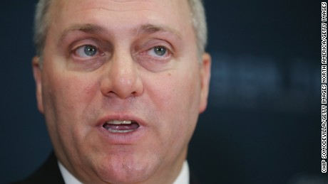 Rep. Steve Scalise Now in 'Fair' Condition