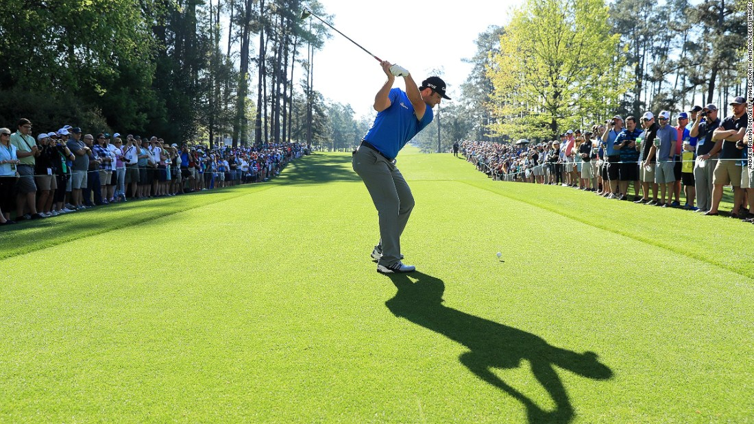 Rahm in action at this year's Masters -- his first appearance at Augusta National. The 22-year-old finished in a tie for 27th.