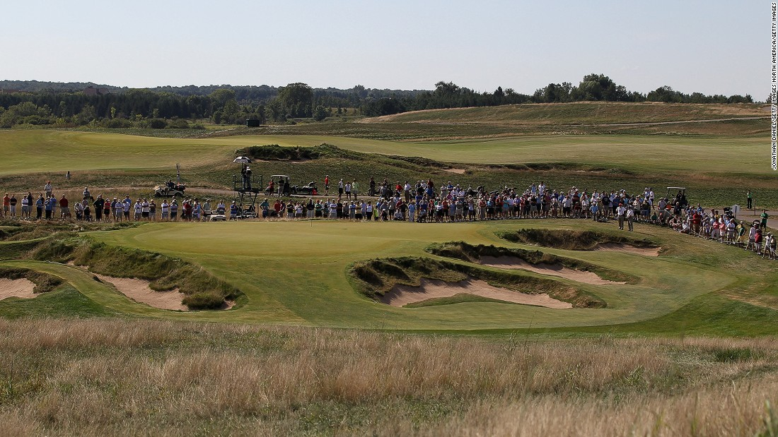 This year's US Open is being held at Erin Hills in Wisconsin. The course hosted to the U.S. Amateur Championship in 2011 (pictured).