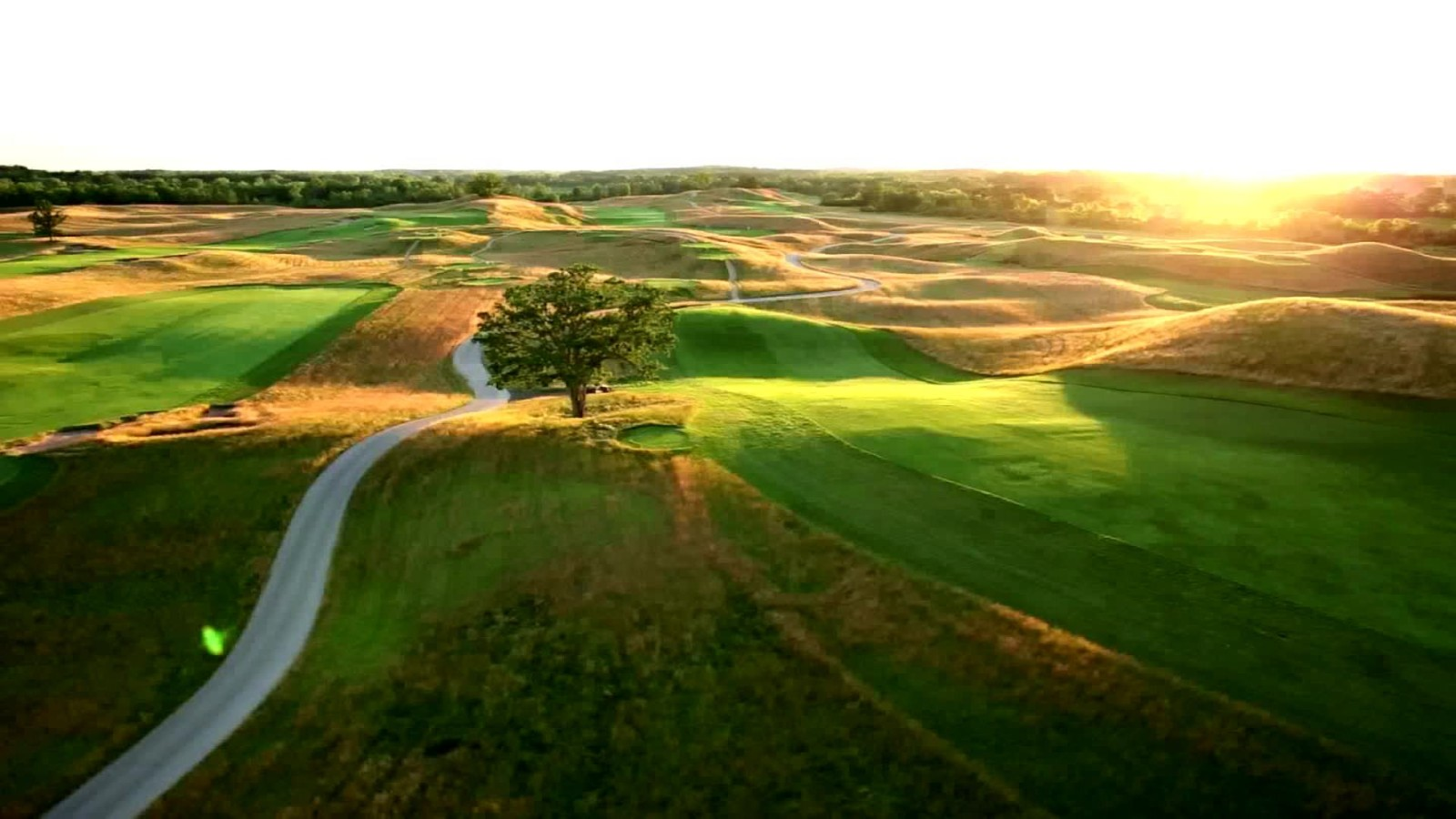 Course Unknowns At The US Open CNN Video - Us open erin hills map