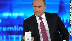 Putin offers Comey 'political asylum' during annual call-in show