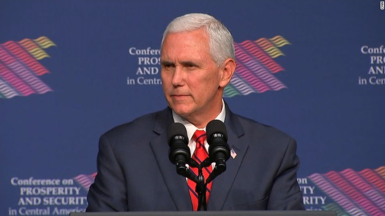 Pence: American people always come together
