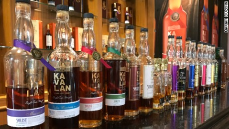 All of the Kavalan drinks