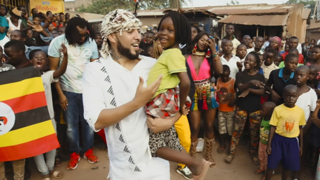 French Montana is on a mission to bring health care to Uganda
