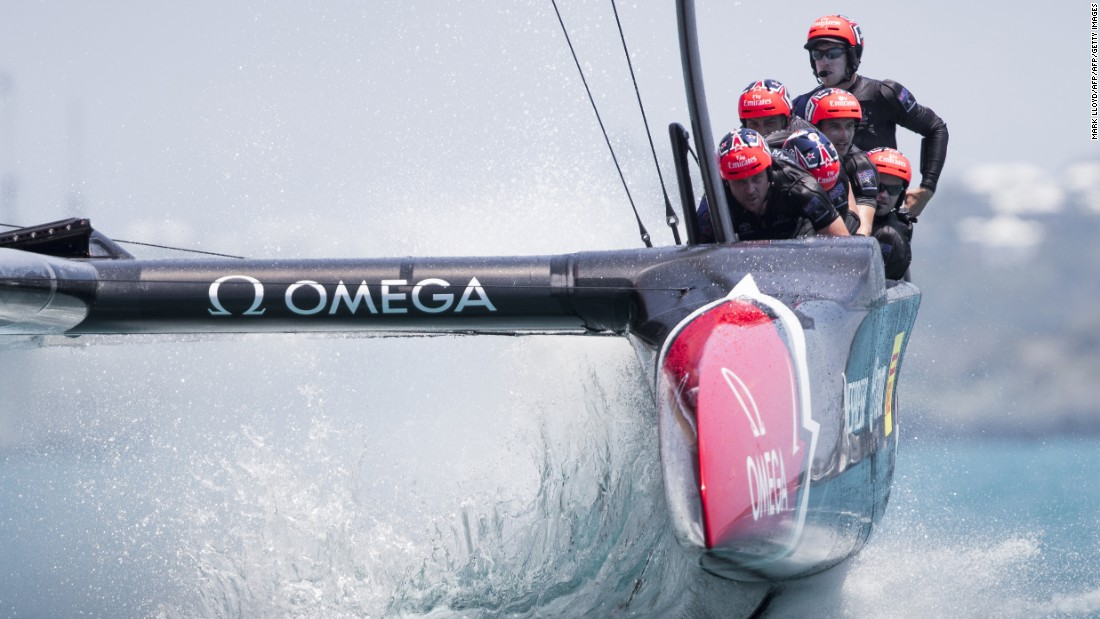 Fresh innovations loom for the final between Emirates Team New Zealand (above) and Oracle Team USA, including thermal imagery on the sailors.