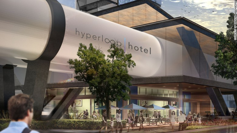 """Hyperloop Hotel"" by Brandan Siebrecht"