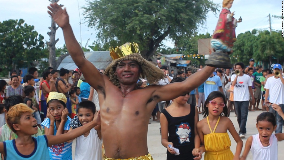 In the Ati-Atihan Festival, the image of Santo Niño (the infant Jesus) is the central figure. The Santo Niño is dressed in various costumes and regalia.