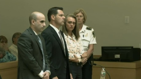 See Michelle Carter's reaction after ruling