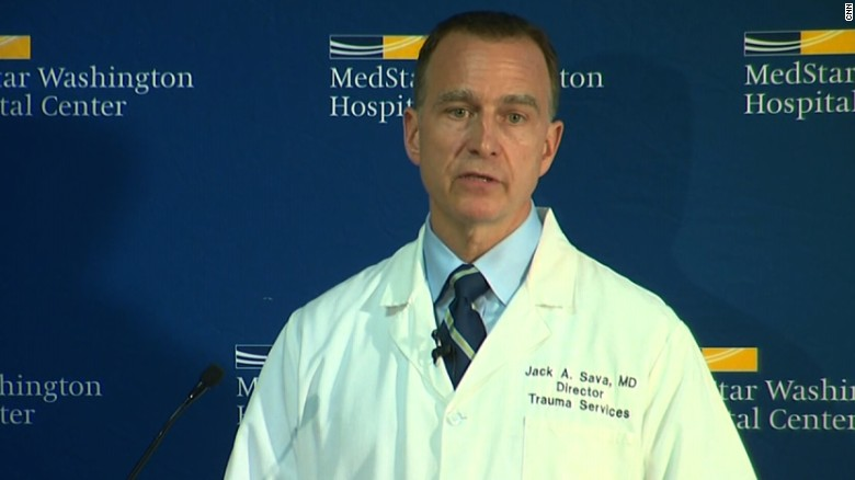 Surgeon: Scalise remains in critical condition