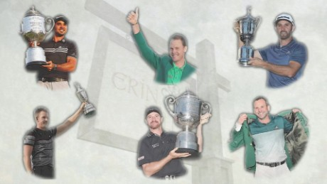 Golf's newest trend: first-time major winners