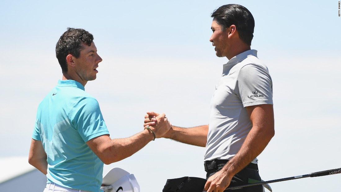 Second and third-ranked Rory McIlroy and Jason Day also made early exits as the deep fescue rough took its toll on wayward shots.