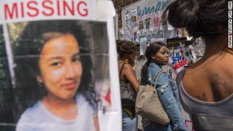 London fire: Smiling faces of missing contrast with anger, grief