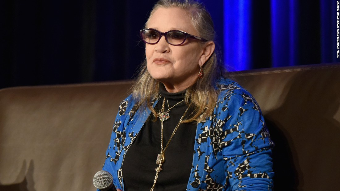 Carrie Fisher Honored At D23 As Disney Legend