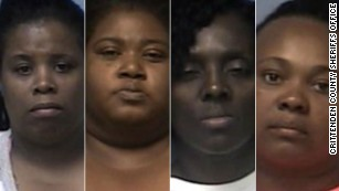Four women face charges in Arkansas hot car death