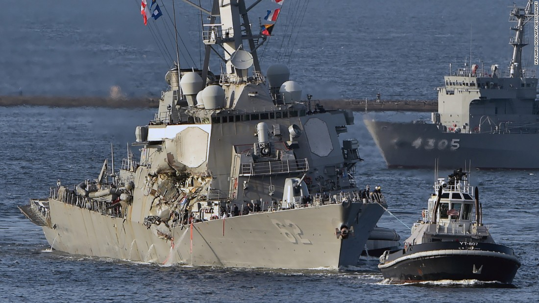 New details emerge about USS Fitzgerald collision