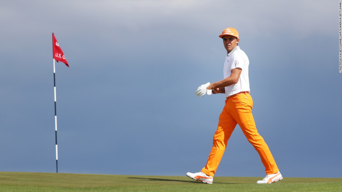 Popular American Rickie Fowler had to settle for another near miss in a major as he struggled to get his challenge going and ended up in a tie for fifth.