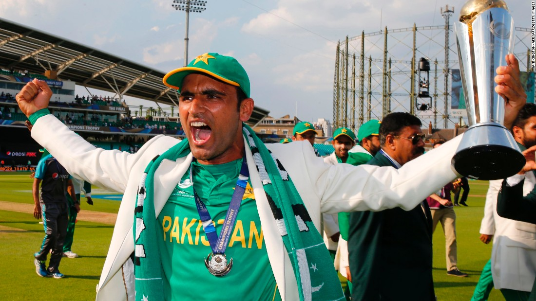 Pakistan's Fakhar Zaman started the tournament as an uncapped drinks carrier and ended it with a maiden one-day international hundred in just his fourth appearance.