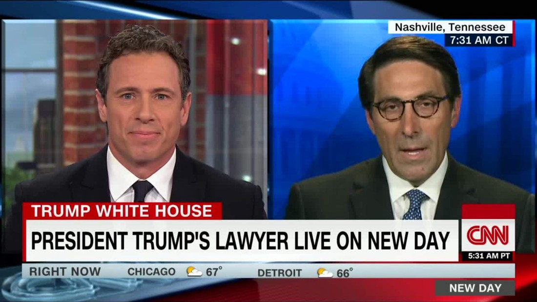 Cuomo, Trump lawyer clash over Russia probe