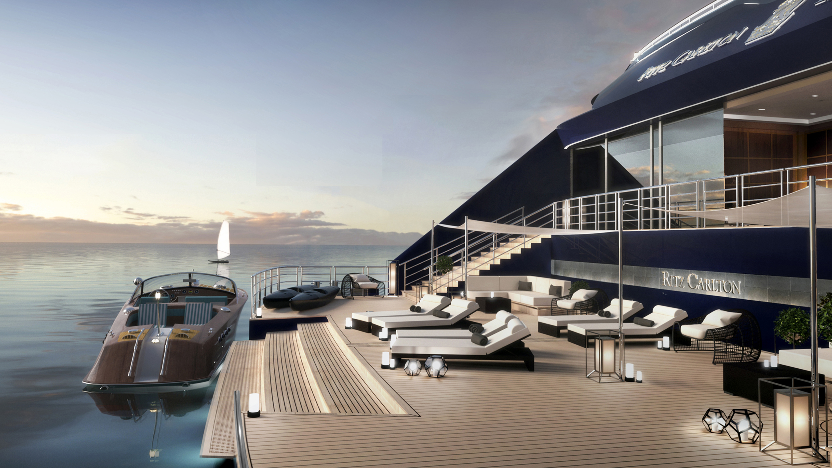 Ritz carltons new yachts will be luxury hotels at sea cnn travel