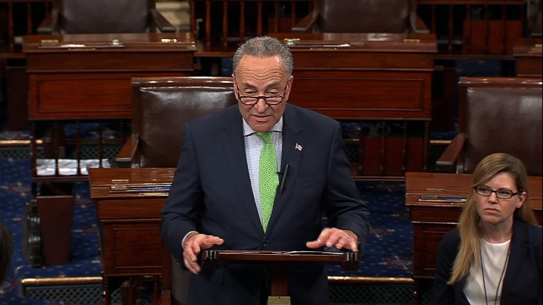 Schumer: Republicans are ashamed of bill