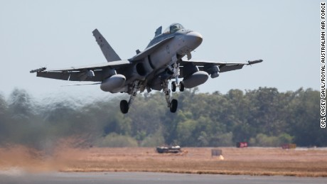 Australia suspends air strikes in Syria