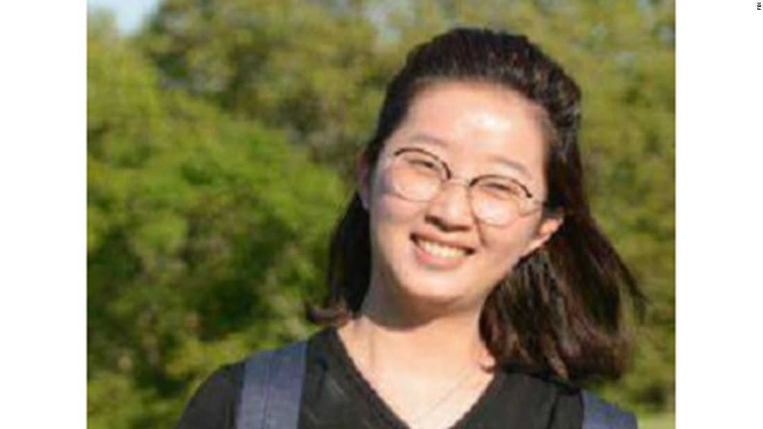 The FBI finds the car a missing Chinese grad student was seen entering