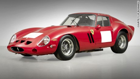 1962-63 FERRARI 250 GTO BERLINETTA was sold for US$ 38,115,000 on August 14, 2014 and the record still stands for this car as the most valuable car ever sold at auction.