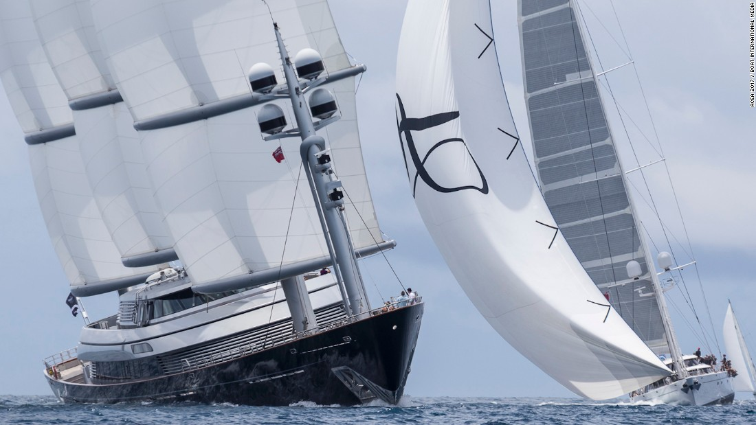 Despite leading going into the final day of racing, Maltese Falcon was unable to hold onto first place.