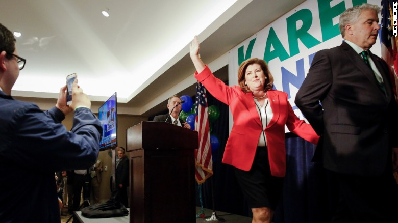 CNN projects: Karen Handel wins