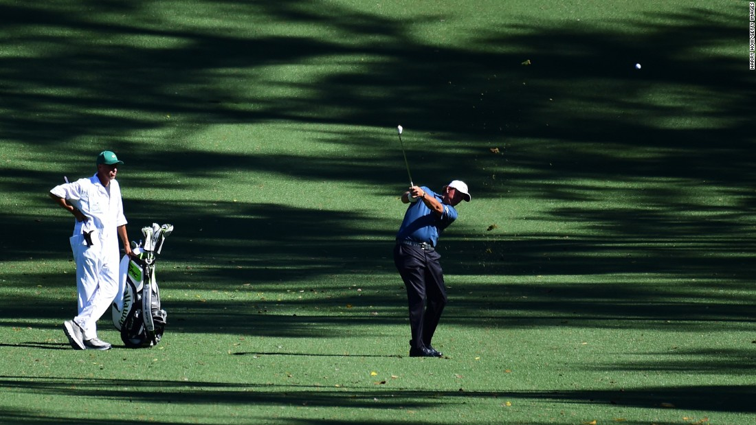 As well as three green jackets, Mickelson has had eight other top-five finishes at Augusta alongside Mackay.