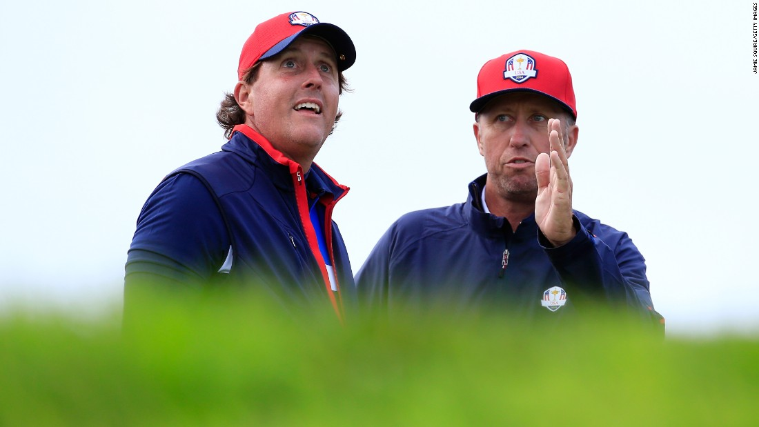 Mickelson and Mackay appeared in 11 Ryder Cups together and were on the winning side three times.