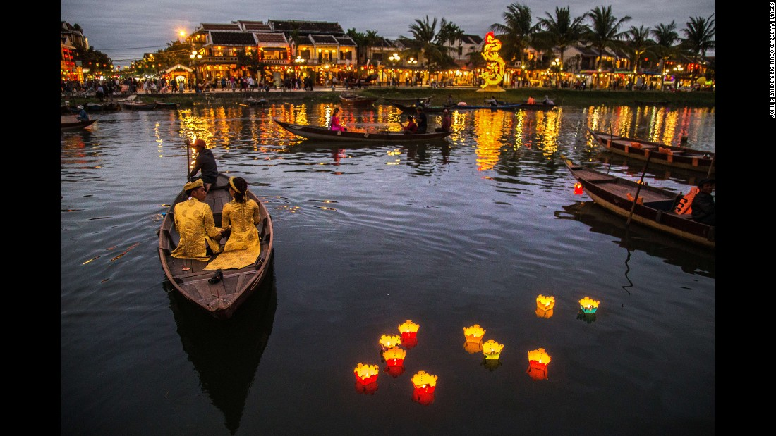 <strong>Hoi An, Quang Nam, Vietnam:</strong> A trading port between the 15th and 19th centuries, Hoi An boasts an eclectic mix of historical eastern and western buildings. The well-preserved old town is a UNESCO World Heritage site.