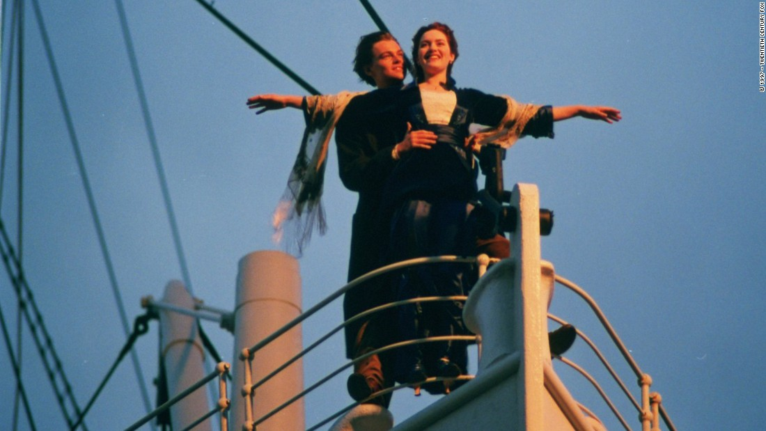 "<strong>""Titanic"": </strong>Leonardo DiCaprio and Kate Winslet's hearts have no choice but to go on in this film about a couple who finds love aboard the doomed voyage of the the RMS Titanic. <strong>(Netflix)</strong>"