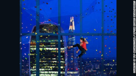 22 Bishopsgate will have London's first climbing wall.