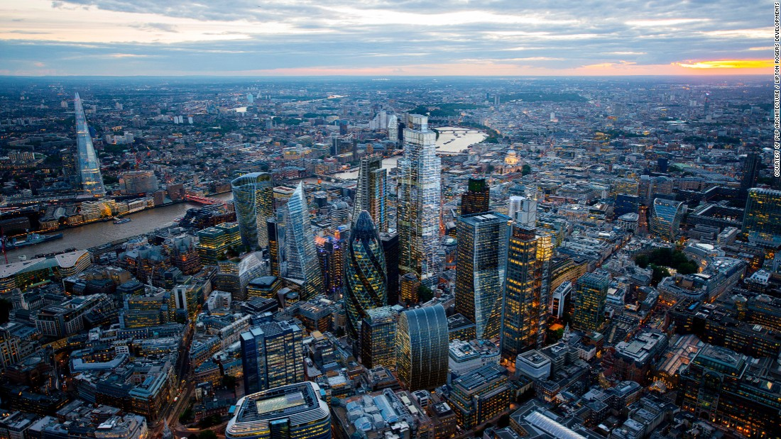 "22 Bishopsgate will stand at 59 stories tall, with 100,00 square feet of ""amenity space,"" adding to London's ever-changing skyline."