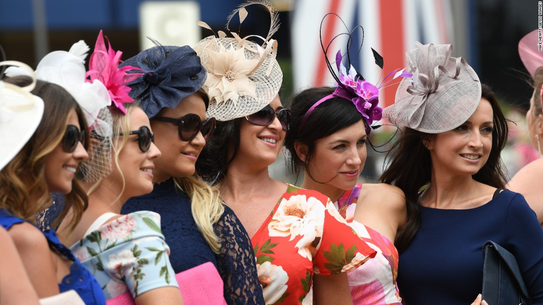 It's Ladies Day at Royal Ascot and extravagant hats are a must for anyone hoping to make a statement, or catch a photographer's eye.