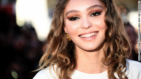 French-US actress and model Lily-Rose Depp poses as she arrives on May 17, 2017 for the screening of the film 'Ismael's Ghosts' during the opening ceremony of the 70th edition of the Cannes Film Festival in Cannes, southern France.  / AFP PHOTO / Anne-Christine POUJOULAT        (Photo credit should read ANNE-CHRISTINE POUJOULAT/AFP/Getty Images)
