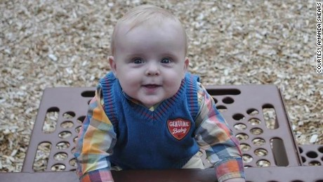 Zealen Shears died five days before he turned 11 months old.