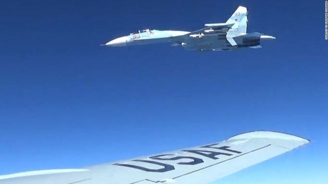 "The Russian plane was armed and flew ""erratically,"" the official added, noting that the maneuvers were deemed unsafe due in part to the proximity of the aircraft."