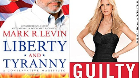 """Liberty and Tyranny: A Conservative Manifesto"" and ""Guilty: Liberal 'Victims' and their Assault on America"" were two of the books on the reading list."