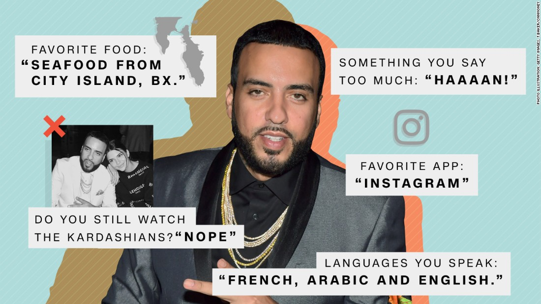 French Montana answers our most burning questions about super powers, the Kardashians