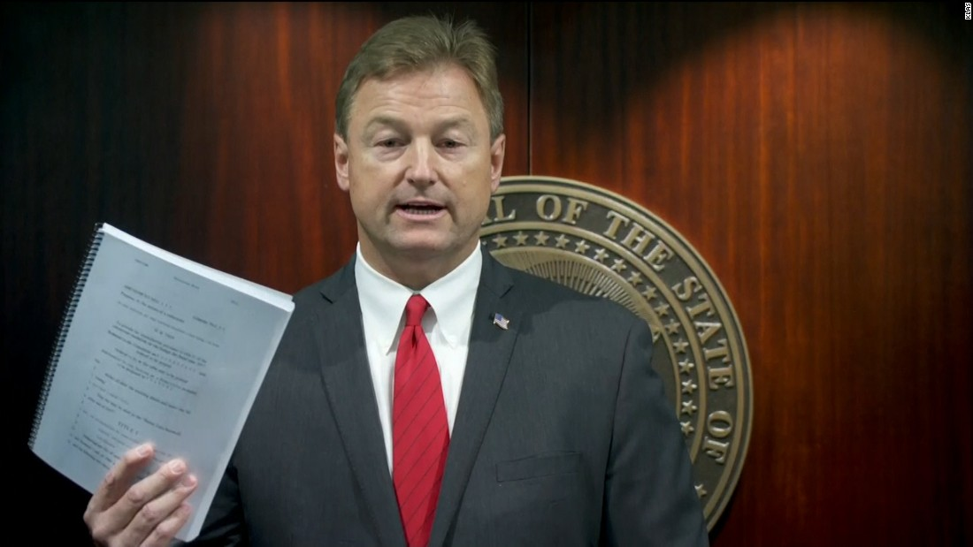 Dean Heller sticks with Trump on health vote - CNN Video