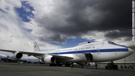 A tornado damaged the ten aircraft of the United States air force